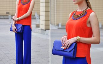 Ideas de outfits color blocking