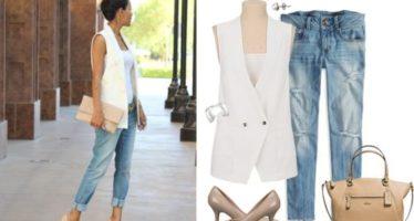 Vest blazer outfits