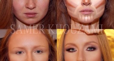 Makeup for round face girls
