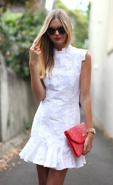 Vestidos Blancos Casuales 4 Beauty And Fashion Ideas
