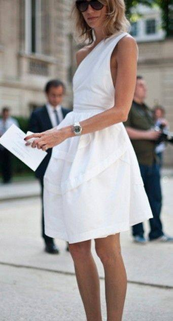 Vestidos Blancos Casuales 6 Beauty And Fashion Ideas