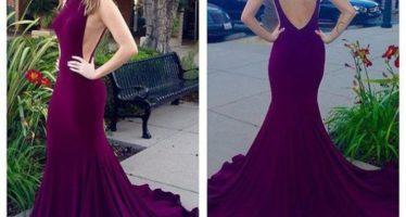 Mermaid cut dresses