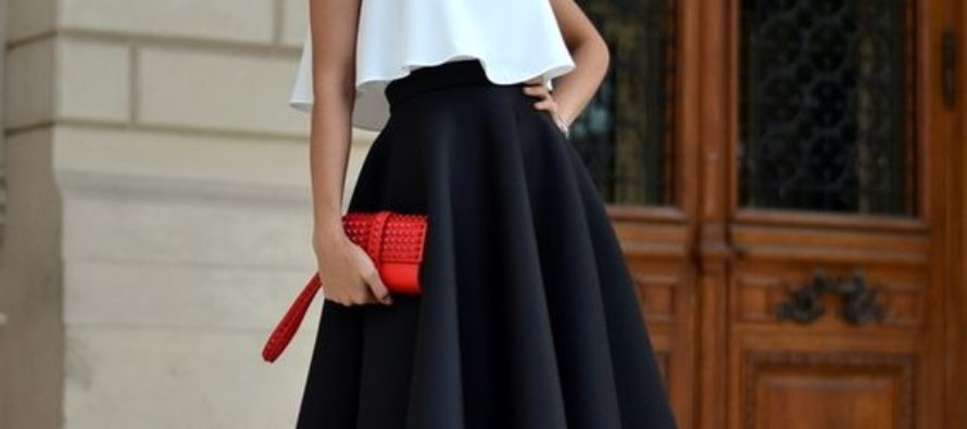 Outfits blanco y negro