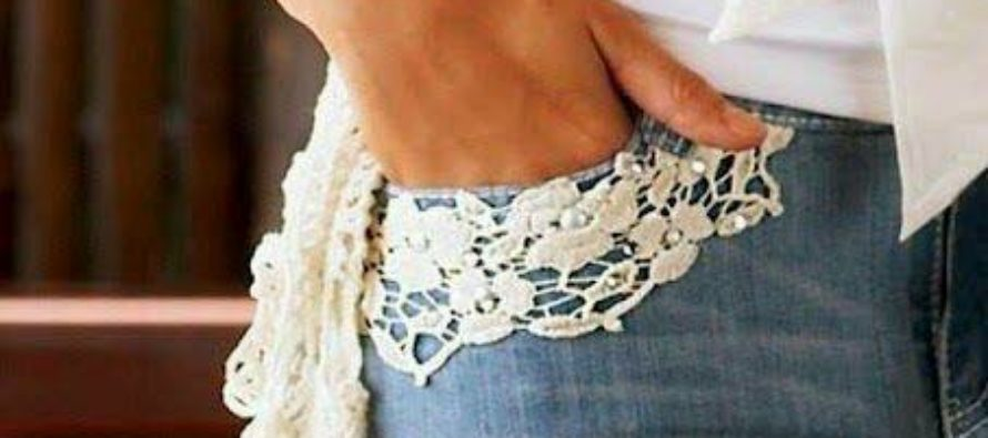Lace on your clothes is the new trend