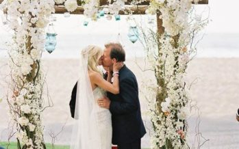 Wedding ceremony arch ideas