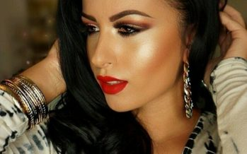 Makeup for women with black hair