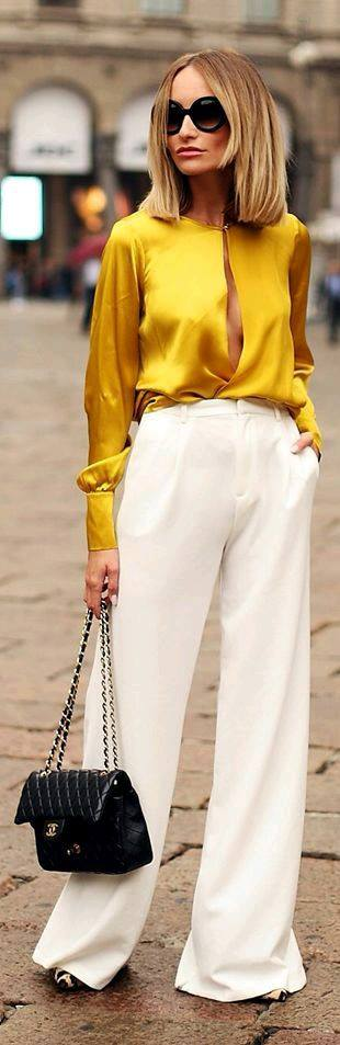 Mustard-colored Outfits Ideas (15) | Beauty And Fashion Ideas Fashion Trends Latest Fashion ...