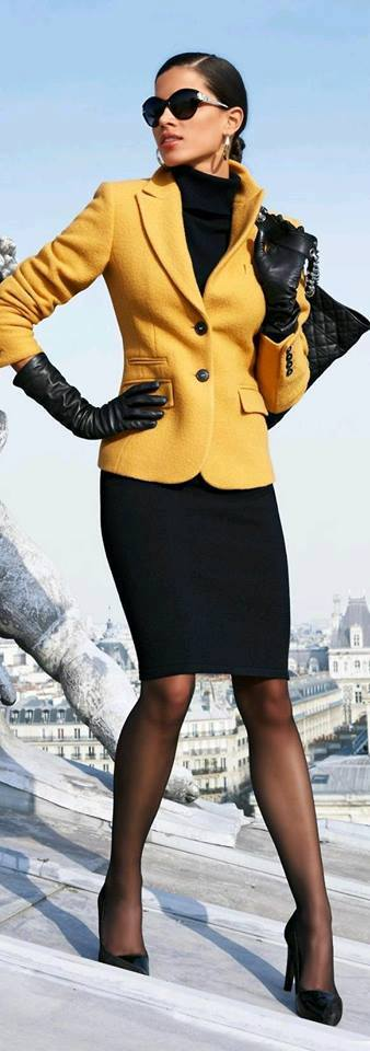Mustard-colored Outfits Ideas (19) | Beauty And Fashion Ideas Fashion Trends Latest Fashion ...
