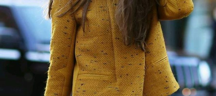 Mustard-colored outfits ideas