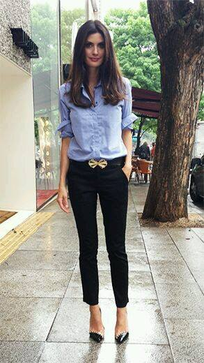outfit con flats