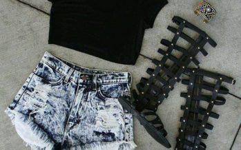 Outfits con sandalias de gladiador