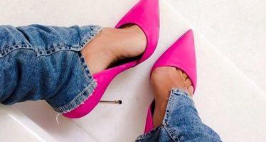 Complementa tu look con zapatos rosas