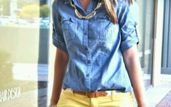 Denim shirts , with everything !!