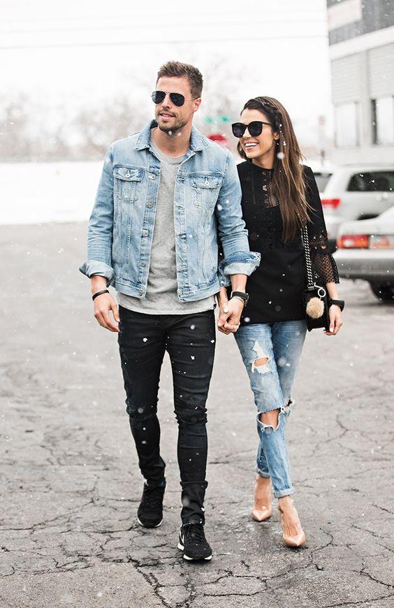 6419ebf4401 Ideas super fashion couple outfits. Full size564 × 870