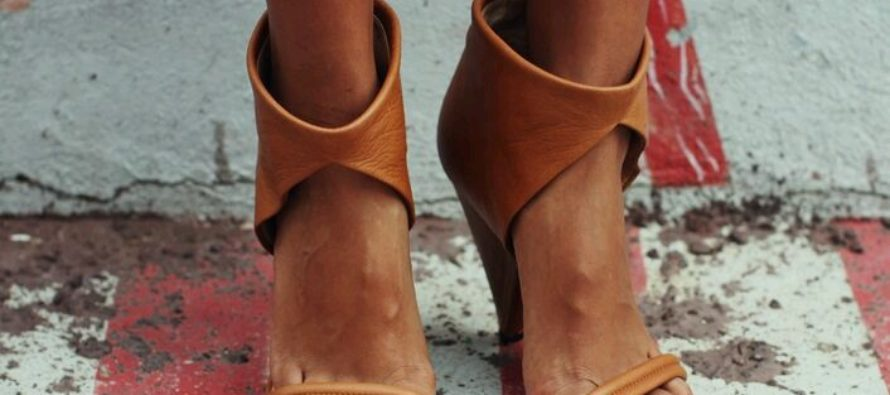 Botas peep toes super de moda