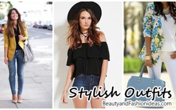 Beautiful outfits with style and glamour