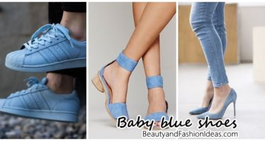 2017 baby blue shoes trend