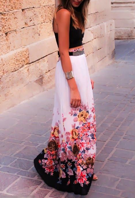33 beautiful summer wrap skirt