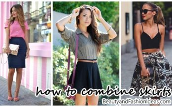 30 different options for combining skirts