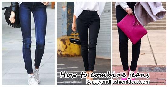 38 formas diferentes de combinar jeans
