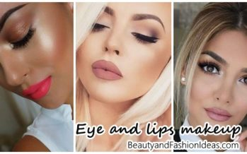 Eye makeup and lips