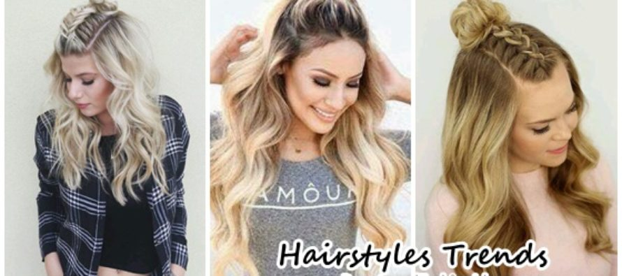 Hairstyles trend Try it!