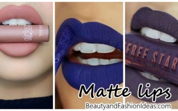 Lipsticks liquid matte effect