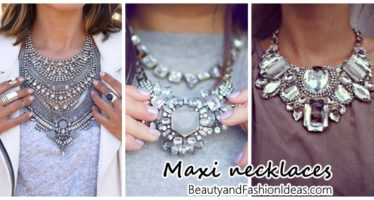 Maxi necklaces – the'll love
