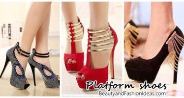 Zapatos de plataforma: hermosos y cómodos