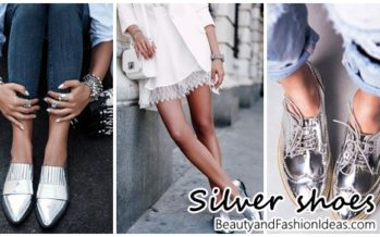 Silver fashion footwear and how to combine