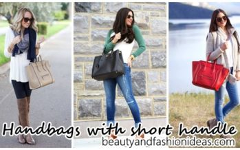 30 trends in bags with short handle autumn – winter