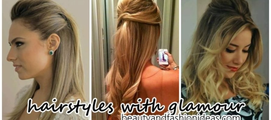 Add glamor to your looks with these hairstyles