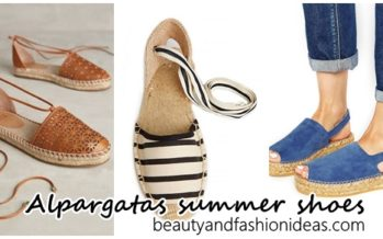 Alpargatas summer shoes