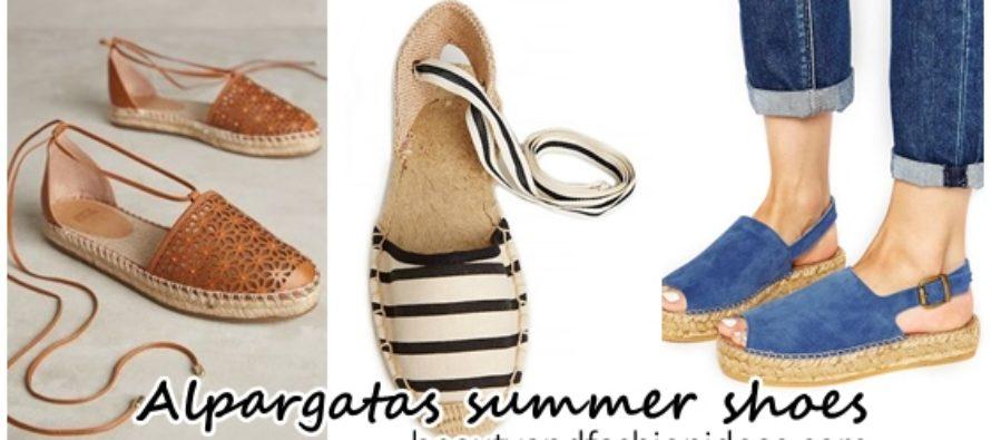 Alpargatas summer shoes