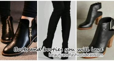 Beautiful boots and booties that you will love
