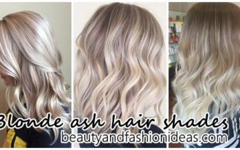 Change your look with these shades of blonde ash