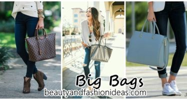 Ideas to combine your big bags
