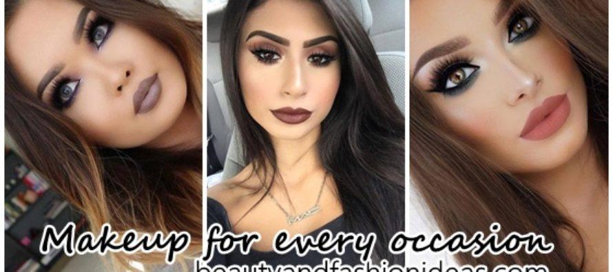 Opciones de maquillaje para cada ocasión