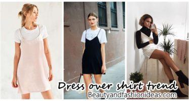 Blusas bajo vestidos una tendencia atrevida ¿Lo usarías?