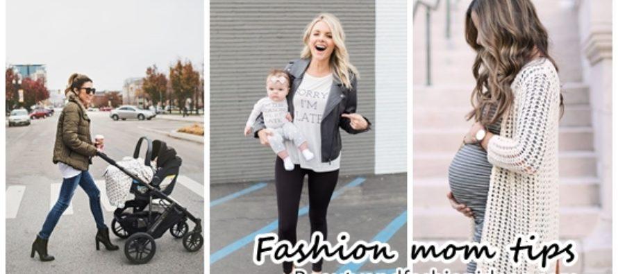 Conviertete en la mamá mas fashion con nuestros tips