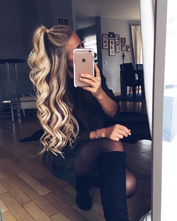 Peinados Tumblr Cabello Largo Faciles Peinados Con Estilo