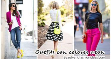 Ideas para armar el mejor outfit con colores neon