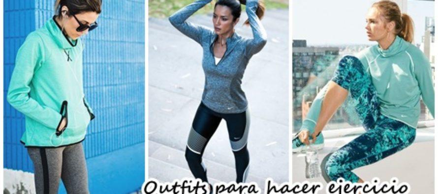 Increibles outfits para hacer ejercicio