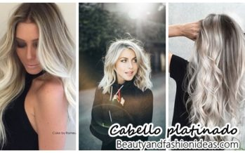 Ideas de color para cabello platinado