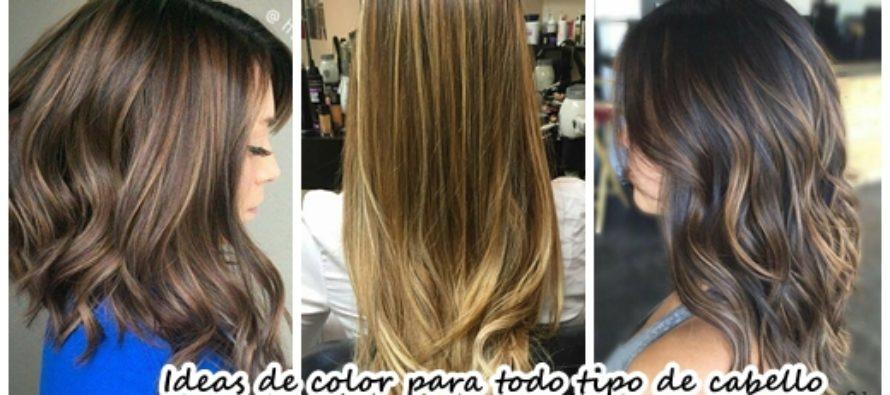 Ideas de color para todo tipo de cabello