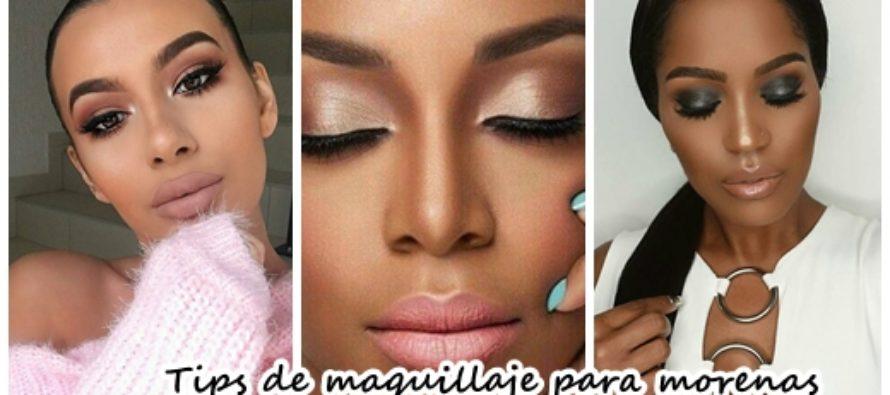 Ideas de maquillaje para morenas