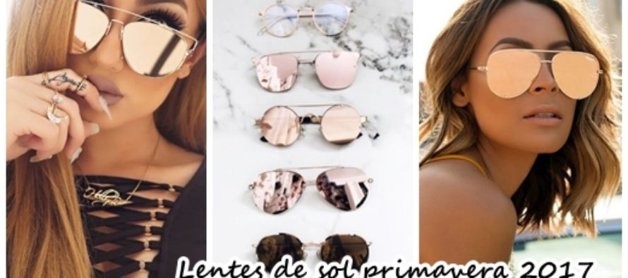 lentes de sol primavera verano 2017 beauty and fashion ideas fashion trends latest fashion. Black Bedroom Furniture Sets. Home Design Ideas