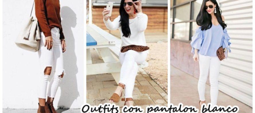 Lleva jeans blancos para lucir con estilo esta temporada