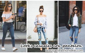 25 ideas de looks casuales con pantalon