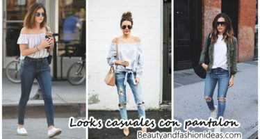 25 ideas de looks casuales con pantalon